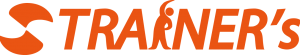 トレーナーズのオレンジ色のロゴ